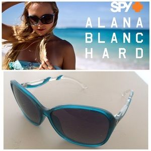 SPY Accessories - 💕FINALSALE💕Teal Optic Sunglasses Oversized Frame