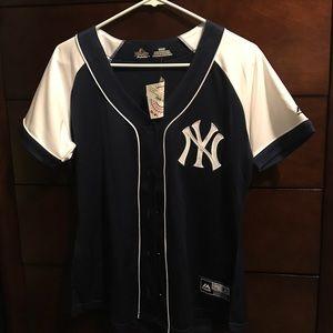 Majestic Tops - Majestic Women's NY Yankees jersey