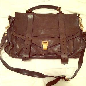Proenza Schouler Handbags - Proenza Schouler large PS1 navy blue