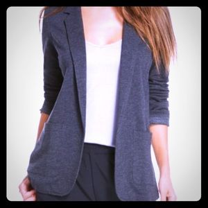 Fabletics Jackets & Blazers - Fabletics Primrose gray blazer, size Medium - EUC
