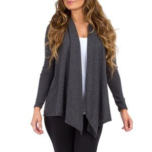 Rags and Couture Sweaters - Avail. in Charcoal & Purple