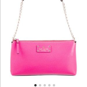 kate spade new york pink Wellesley Byrd bag