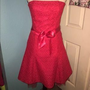 Jessica McClintock Dresses & Skirts - Jessica McClintock Red Dress