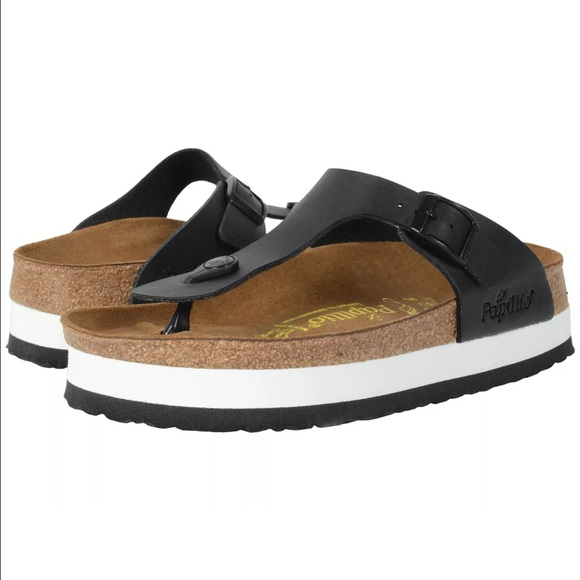 3554f57df7 Birkenstock Shoes   Papillio Gizeh Platform Sandals New 38   Poshmark