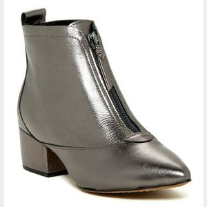 French Connection Pewter Booties
