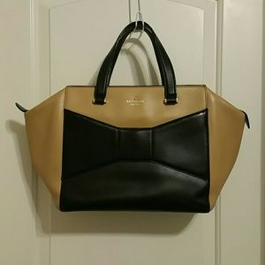 Kate Spade Beau Bag In Black/Macchiato