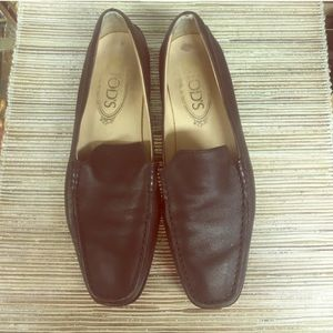 Tod's Shoes - Tod's Women's Brown Loafers - Size 7