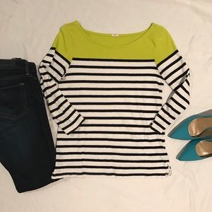 JCrew stripe shirt