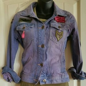 Jackets & Blazers - Denim Jacket Altered /upcycled