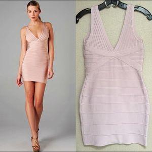 Dresses & Skirts - SOLD Pink Bandage Dress Stretch XS to M