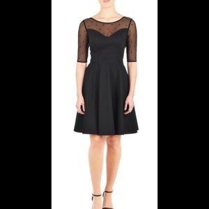 eshakti Dresses & Skirts - New Eshakti Black Fit & Flare Dress L 14