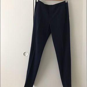 Zara navy blue slacks