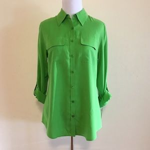 Nexx Tops - SALE!! NEXX New York Lime green blouse