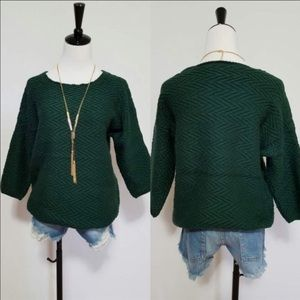 💚New Arrival💚Hunter Green Sweater.