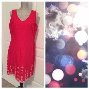 LOFT Dresses & Skirts - BNWT Loft Red Dress