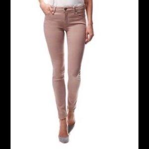 Victoria Beckham Denim - Victoria Beckham Dusty Pink Skinny Jeans