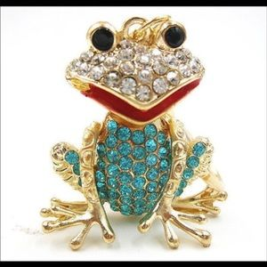 Blue Jeweled Frog