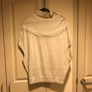 Anthropologie Moth Cocoon Ivory Sweater