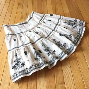 Anthropologie Lithe First Impression boho skirt 10