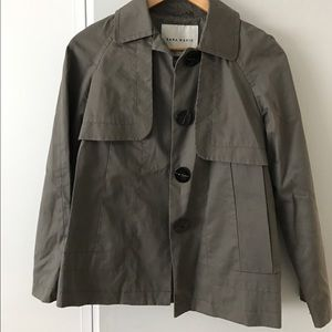 Cropped light-weight trench coat - Zara