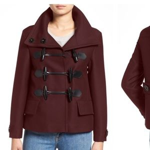 Burberry Jackets & Blazers - 🎉MAKE AN OFFER 🎉 Burberry Brit Toggle Peacoat