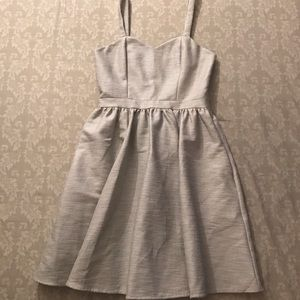 Paper Crown Dresses & Skirts - Paper Crown grey fit and flare.