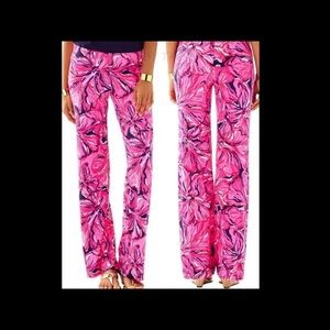 Lilly Pulitzer Pants - Lilly Pulitzer Georgia May Pants M  Navy AS IS!!!!