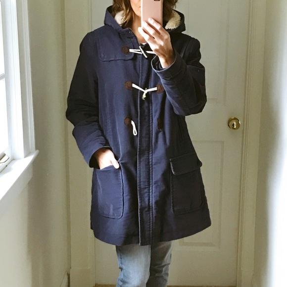 b34e233c18ef Boden Jackets   Blazers - Bolden moleskin duffle coat  navy