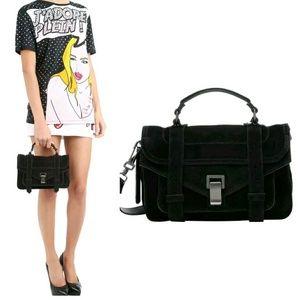 Proenza Schouler Handbags - SALE! Proenza Schoulder PS1 Tiny Suede Leather Bag