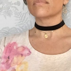 Farah Jewelry Other - Double Layer Choker Necklace