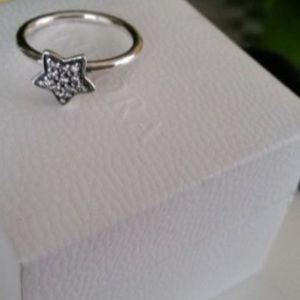 Pandora Jewelry - Pandora Pave star ring