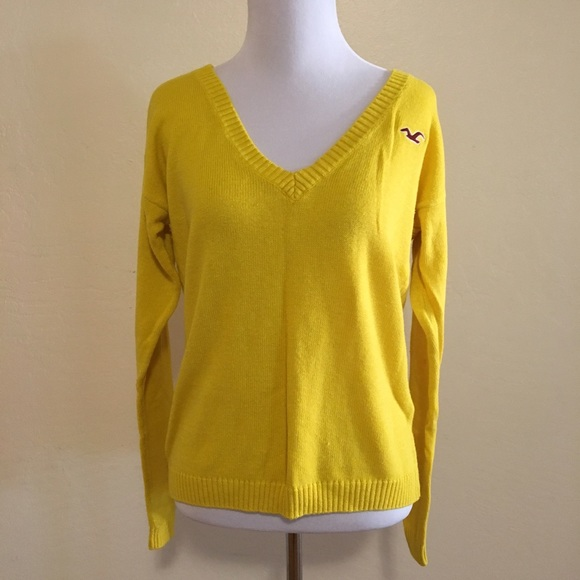 Hollister - SALE! Hollister canary yellow sweater from Ann's ...