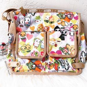 tokidoki Handbags - Tokidoki x LeSportsac • l'amore messenger bag