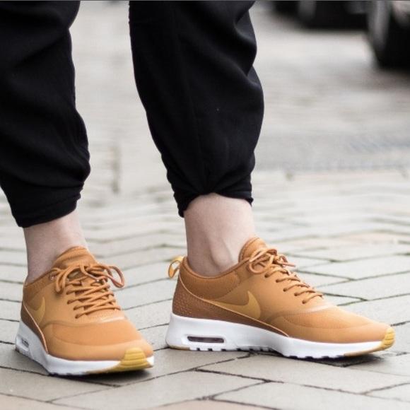 Nike Air Max Thea Desert Ochre Sneakers NWT