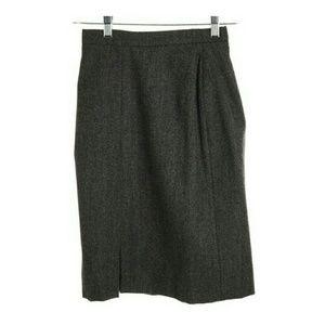 Herve Leger Dresses & Skirts - Herve Leger Gray  Wool Straight Pencil Skirt
