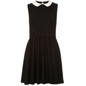 Dorothy Perkins Dresses & Skirts - UK Dorothy Perkins Black double layer collar dress