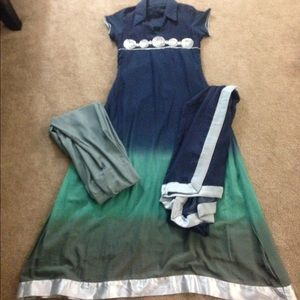 Dresses & Skirts - Indian Pakistani outfit dress 3 pieces