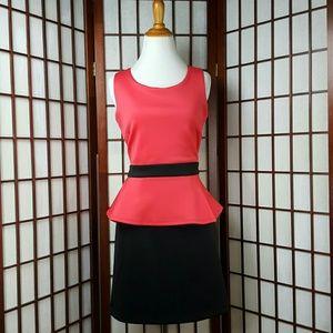 BCBGENERATION Peplum Dress Size L