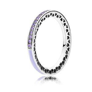 Pandora Jewelry - Pandora hearts of pandora lavender ring