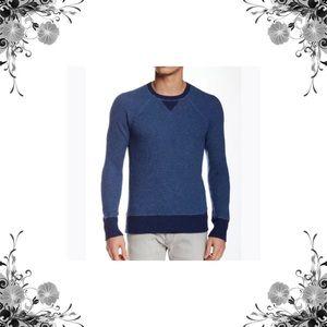 Grayers Other - Grayers Men's Blue Raglan Sweater