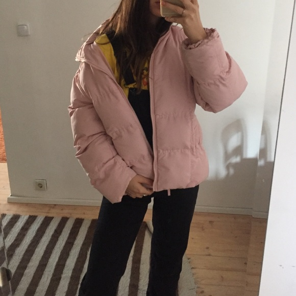 Vintage Jackets Amp Coats Baby Pastel Pink Puffer Jacket