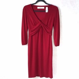 Laundry by Design Dresses & Skirts - Laundry by Design Red Long Sleeve Dress 2