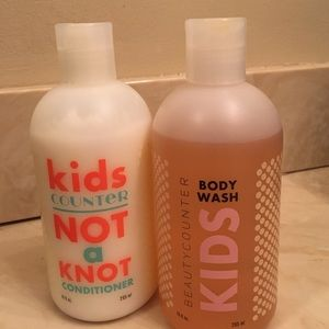 beautycounter Other - Beautycounter kids body wash and conditioner