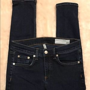 Rag and & Bone High Rise Skinny Denim Jeans 27