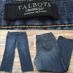 Talbots Denim - 🎍Size 16W Petite Talbots Denim Straight Leg Jeans