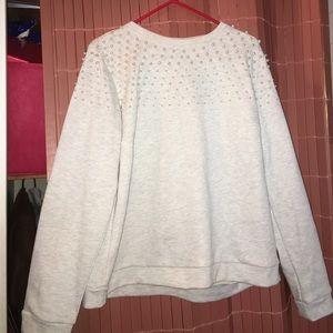 Eloquii Sweaters - Pearl sweatshirt never worn