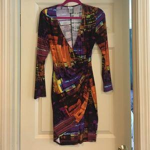 Gorgeous printed Cache dress