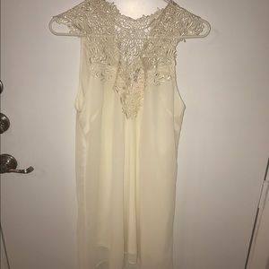 Dresses & Skirts - Brand new white/off white dress with tags!