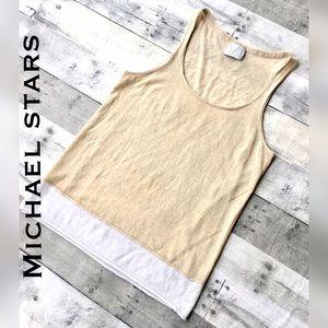 Michael Stars Sweaters - Tissue weight sweater scoop neck sleeveless shell