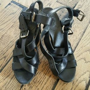Madewell Shoes - Madewell Black Sandals Size 6.5 M
